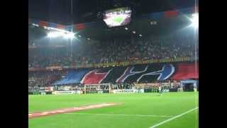Semifinali Europa League 2012/13. Il tifo di Basilea - Chelsea, 25 Aprile 2013 (3)