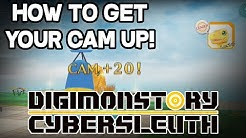 Digimon Story: Cyber Sleuth - How to get your CAM up!