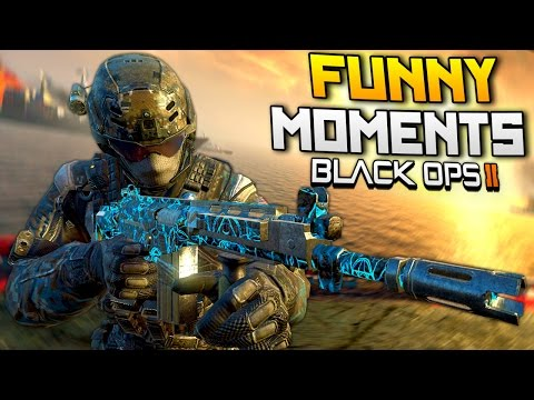 Black Ops 2 Funny Moments - Riot Squad, Nuke Killstreak, Fails (BO2)