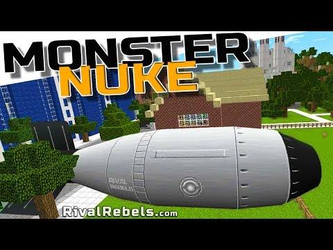 Monster Tsar Nuke - Very Funny Dream In Minecraft