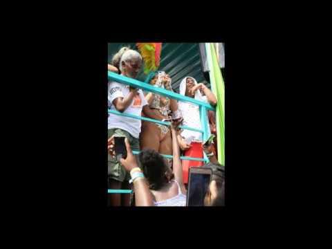 Rihanna at a Carnival in Barbados Pics Celebrity 2017