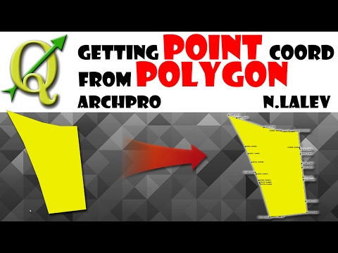 Generating Points from Polygon and their Coordinates