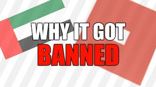 The Reason why ROBLOX got banned in UAE (United Arab Emirates)