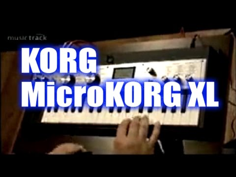 KORG MicroKORG XL Demo&Review [English Captions]