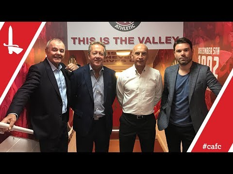 Alan Curbishley, Steve Gritt, Keith Peacock and Dave Berry announce anniversary match