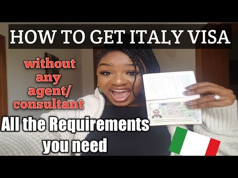 How To Get Italy Tourist Visa|All The Requirements You Need|Schengen Visa