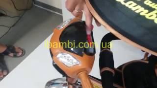 малюк365.pp.ua | Обзор трёхколёсного велосипеда Lamborghini L2 с ключом зажигания