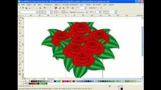 Рисуем розы в CorelDRAW
