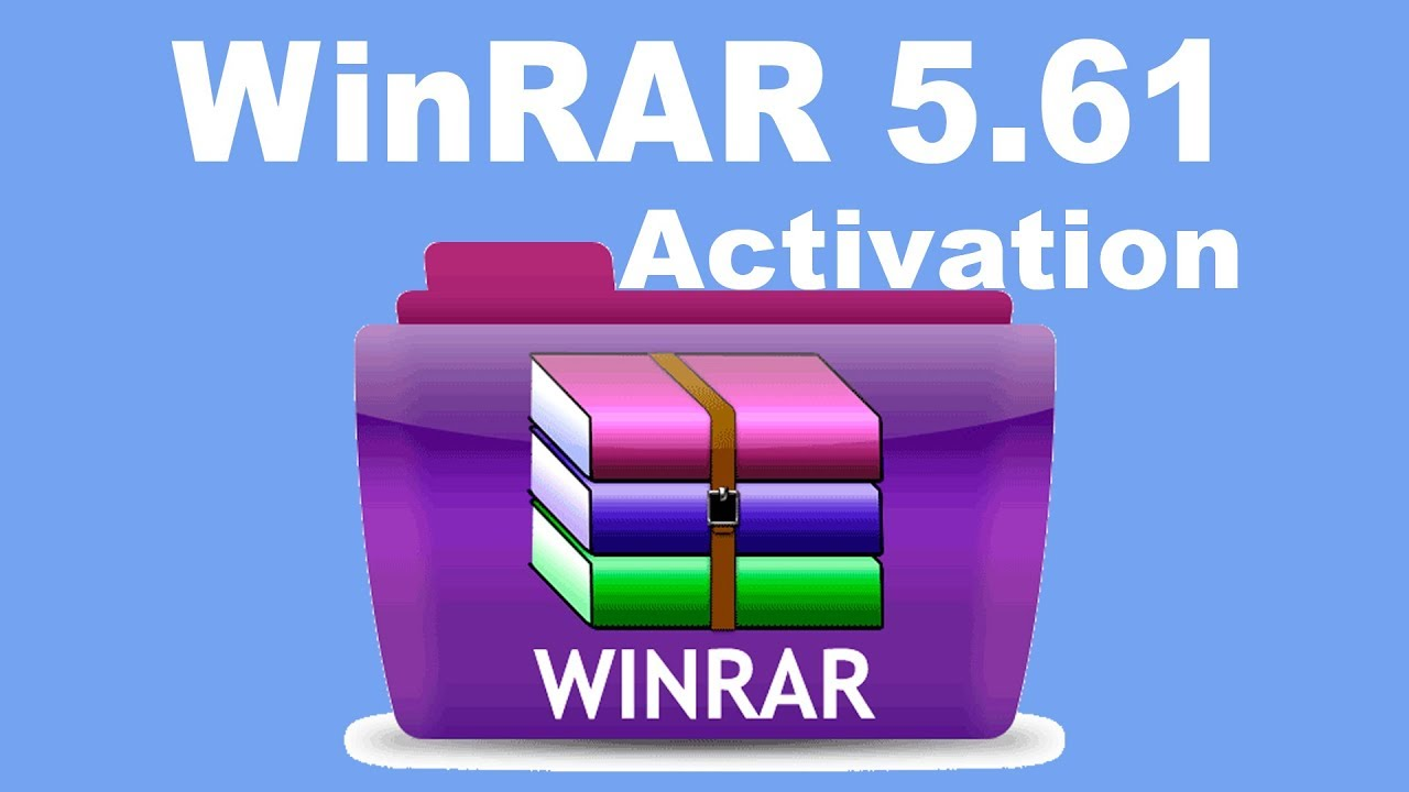 WinRAR 5 61 | 32bit & 64bit | Activation ✔