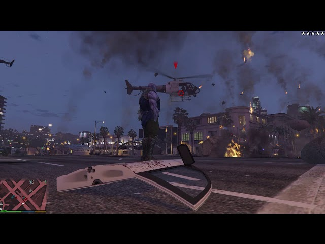 GTA 5 mod brings Thanos to San Andreas with devastating
