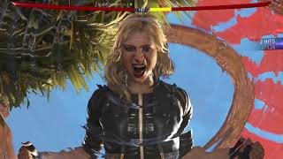 Black Canary vs The Flash Injustice™ 2 Gameplay