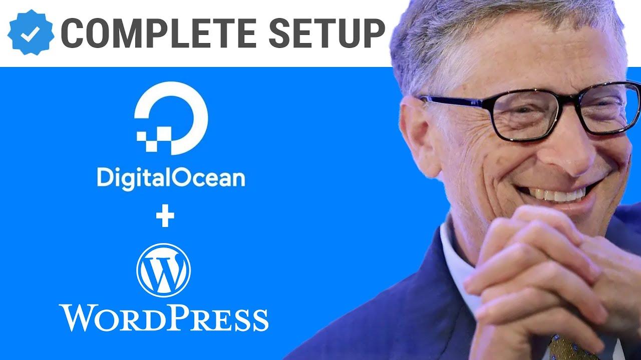 How to install & setup WordPress on DigitalOcean using One Click Install   FREE????   Digital Oc