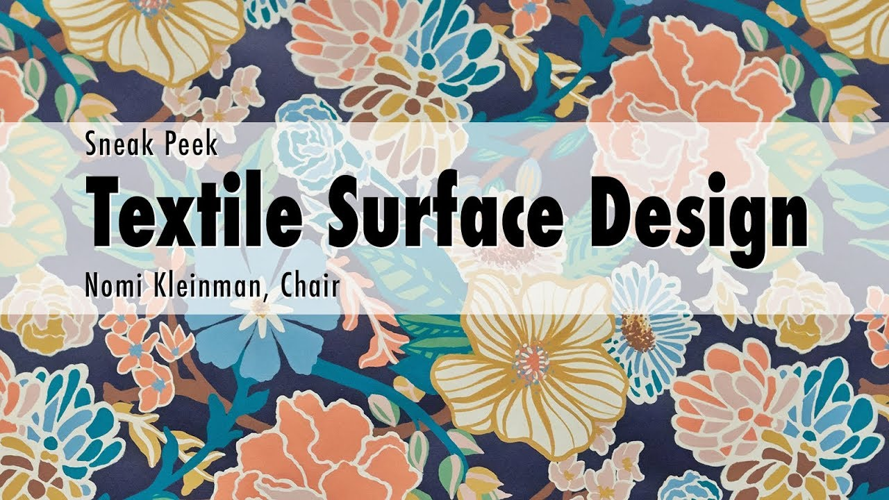 Textile Surface Design Fashion Institute Of Technology