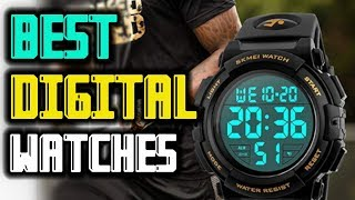 Best Digital Watches For Men — Reviews In 2019