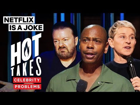 Dave Chappelle, Ellen Degeneres & Ricky Gervais Are Too Rich | Netflix Is A Joke