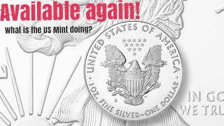 2020 S proof American Silver Eagle is back available! What is the US Mint doing?