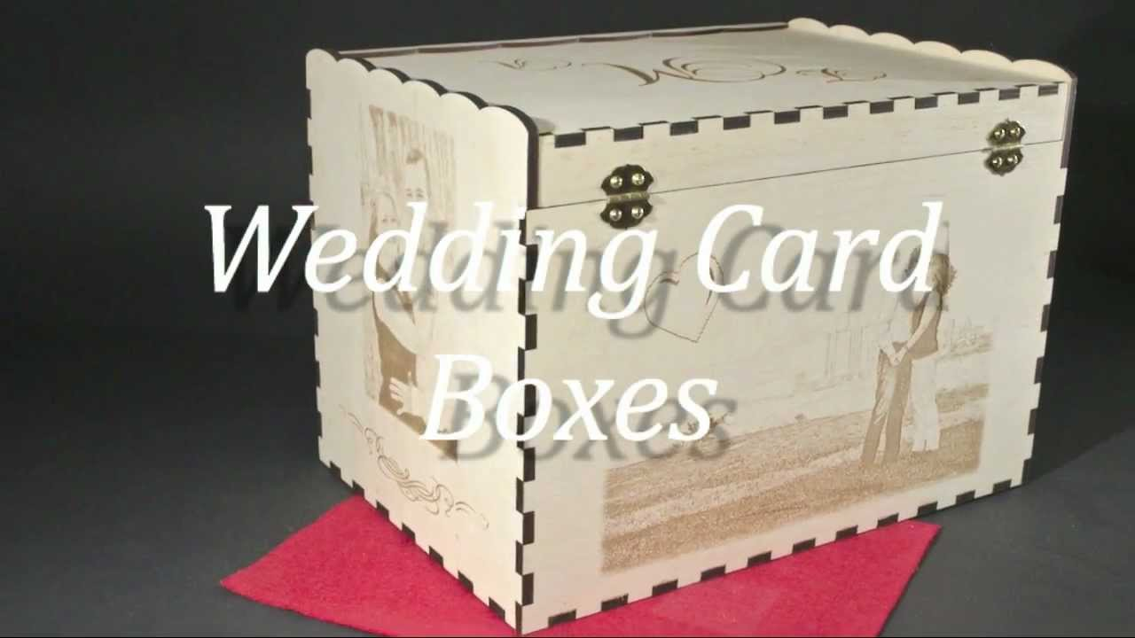 Wedding Card Box ideas Personalized YouTube – Wedding Box for Cards