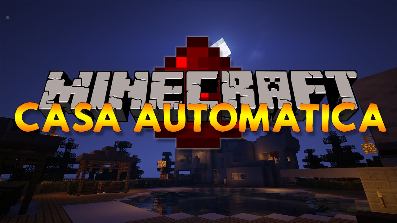 casa automatica redstone minecraft v1 0 youtube