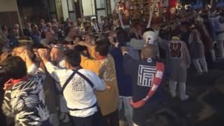 平成28年 平塚<土屋・熊野神社>例大祭 宮神輿渡御=宮入・着與