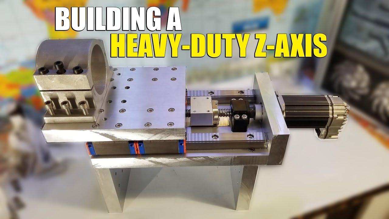 Homemade Diy Cnc Build Part 3 Z Axis