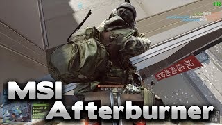 Battlefield 4 MSI Afterburner + MagicYUV Quality Test