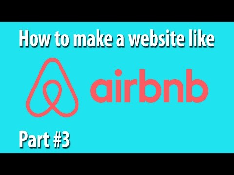 How To Create A Professional Website In HTML Part #3 [How To Build A Website Like Airbnb]