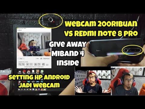 Menjadikan Redmi Note 8 Pro Sebagai WebCam Zoom