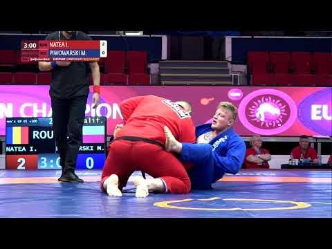 Qual. Men's GP Gi - +100 kg: I. NATEA (ROU) v. M. PIWOWARSKI (POL)