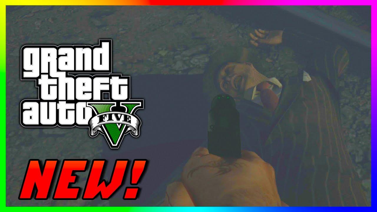 GTA 5 PS4 & Xbox One - MYSTERIOUS DEAD BODY EASTER EGG & NEW Hidden  Mineshaft! (GTA V PS4 Gameplay)
