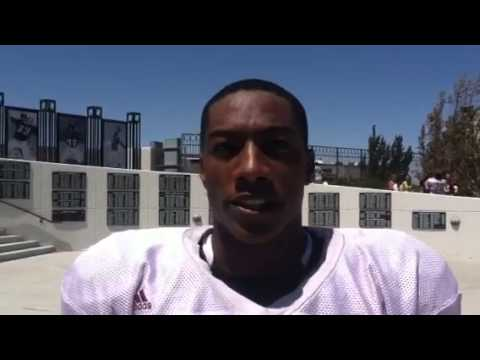 VIDEO: New Mexico State wide receiver Joseph Matthews