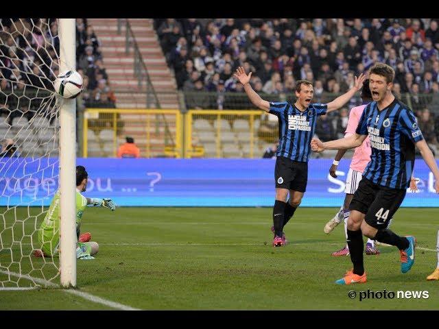 2014-2015 - Club Brugge - RSC Anderlecht - GOAL Tom De Sutter