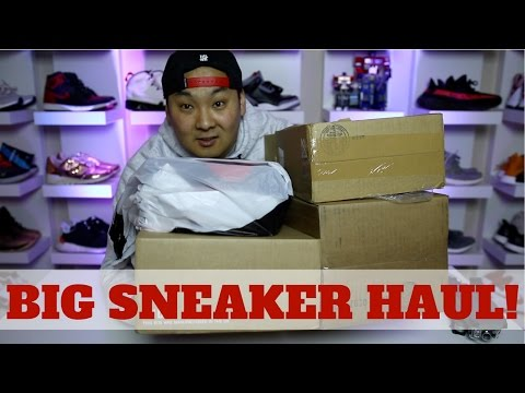 COMPETITION FOR BOOST? BIG SNEAKER HAUL!! + GIVEAWAY!