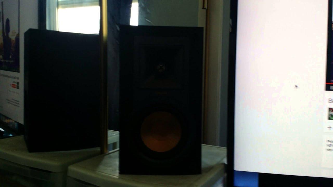 klipsch bookshelf speakers r 15m. klipsch r-15m sound test bookshelf speakers r 15m