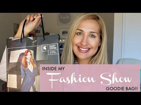 What's Inside My PERTH FASHION SHOW Goodie Bag!