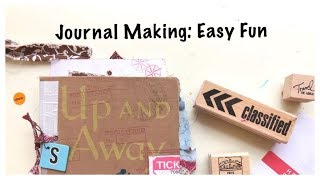 Let's Make a Journal: Easy Journal Tutorial