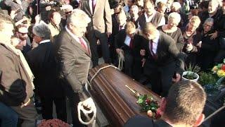 Obsèques à Montpellier de Manitas de Plata