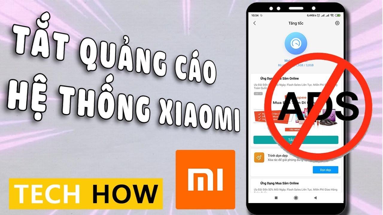 Cách tắt hết Quảng cáo trên điện thoại Xiaomi sạch sẽ | MÊ THỦ THUẬT