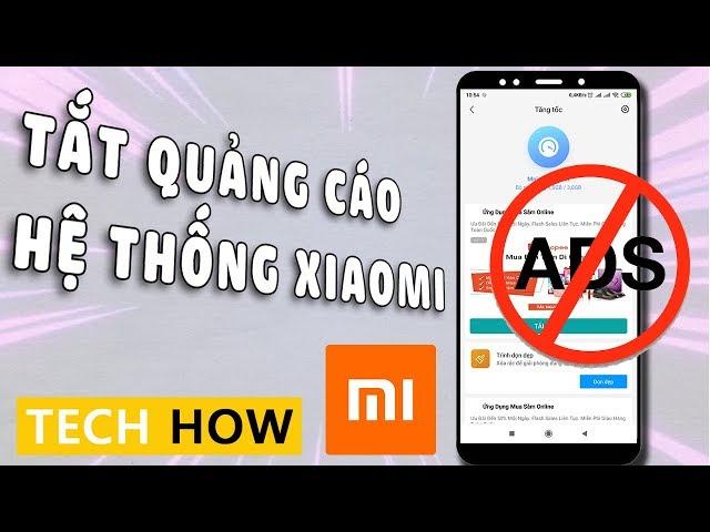 [Mê Thủ Thuật] Cách tắt hết Quảng cáo trên điện thoại Xiaomi sạch sẽ   MÊ THỦ THUẬT