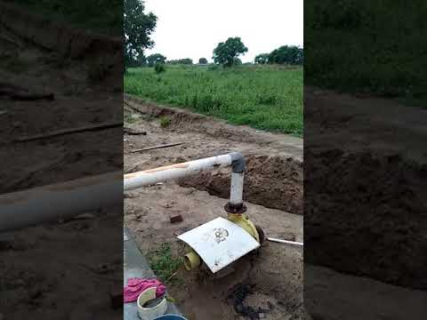 Solar water pumping 3hp plant