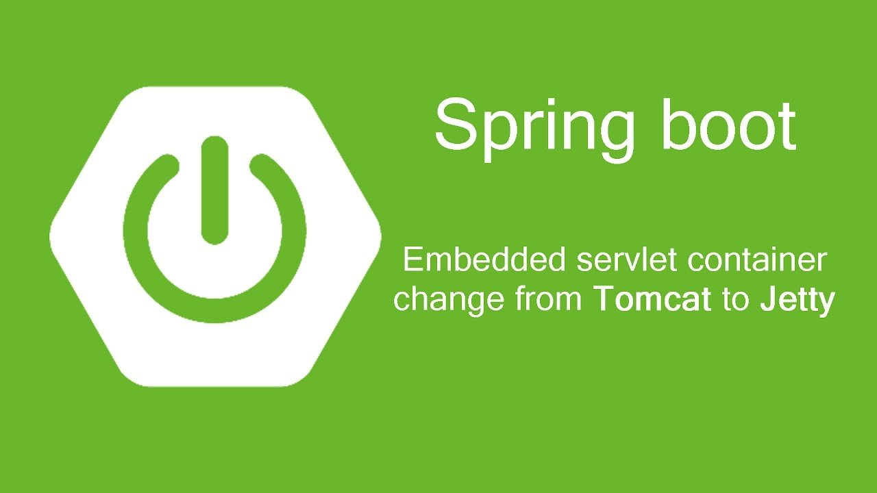 Spring Boot - Embedded container change to Jetty