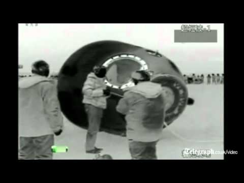 China's Shenzhou-8 spacecraft lands safely in Mongolia