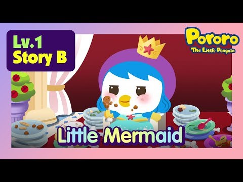 [Lv.1] The Little Mermaid | Meet the Mermaid Princess Petty | Bed time story for kids | Fairy Tales