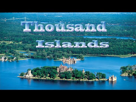 Thousand Islands constitute an archipelago of 1,864 islands