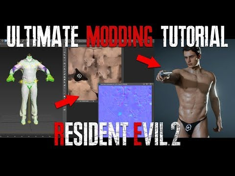 RE2 ULTIMATE MODDING TUTORIAL