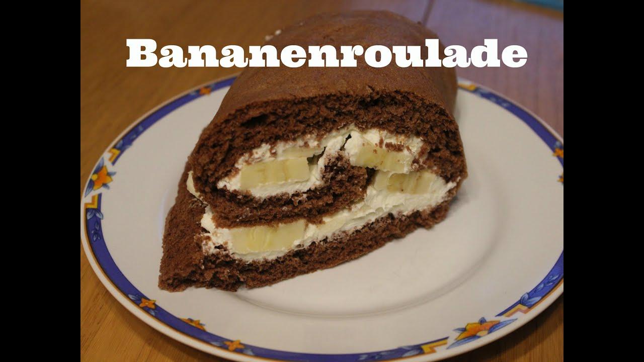 Bananen kuchen rolle