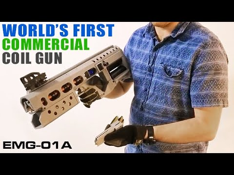 World's First Commercial 3D Printed Coilgun - EMG-01A