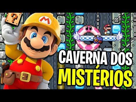 A CAVERNA DOS MISTÉRIOS, SÉRIE DE SUCESSO! – Super Mario Maker