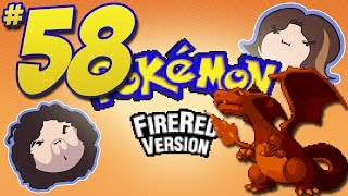 Pokemon FireRed: Top of the Tower - PART 58 - Game Grumps