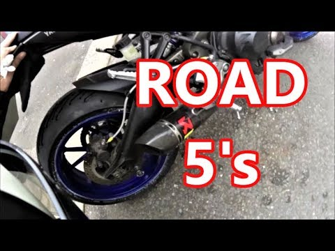 MICHELIN ROAD 5's and Watling Tyres Catford