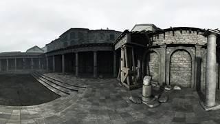 КОРОЛЬ АРТУР: ЛЕГЕНДА МЕЧА. Прогулянка Лондініумом (панорамне відео) HD